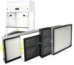Carbon Filters for Ductless Fume Hoods